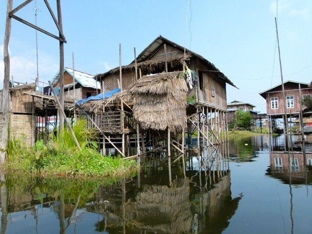 le lac Inle - Birmanie