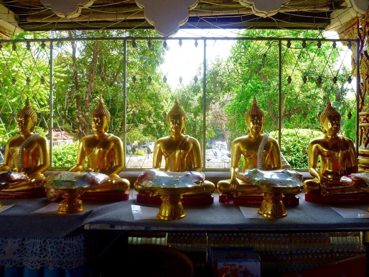 Temple Wat Suan Dok - Chiang Mai