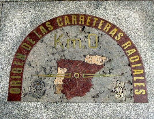 Voyage à Madrid - la Puerta del Sol, los Austrias