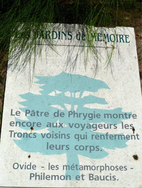 les jardins de mémoire