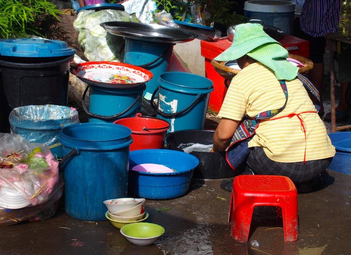 Chiang Mai - le marché halal - halal market