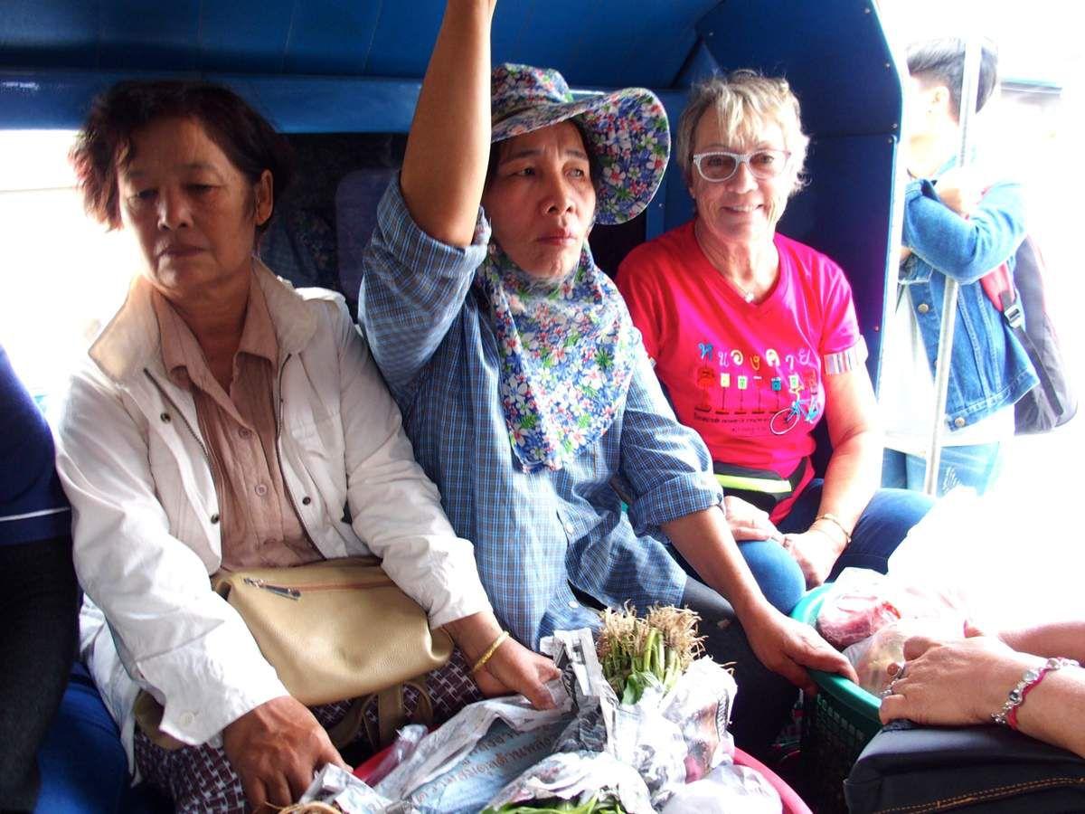 de Chiangmaï à Lamphun