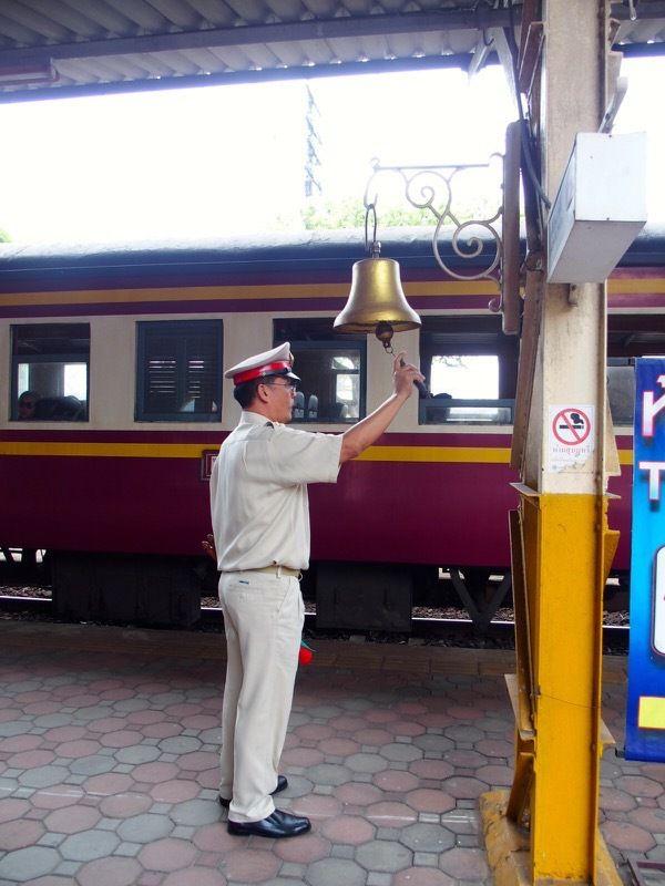 en train de Lampang à Chiangmaï (vidéo)