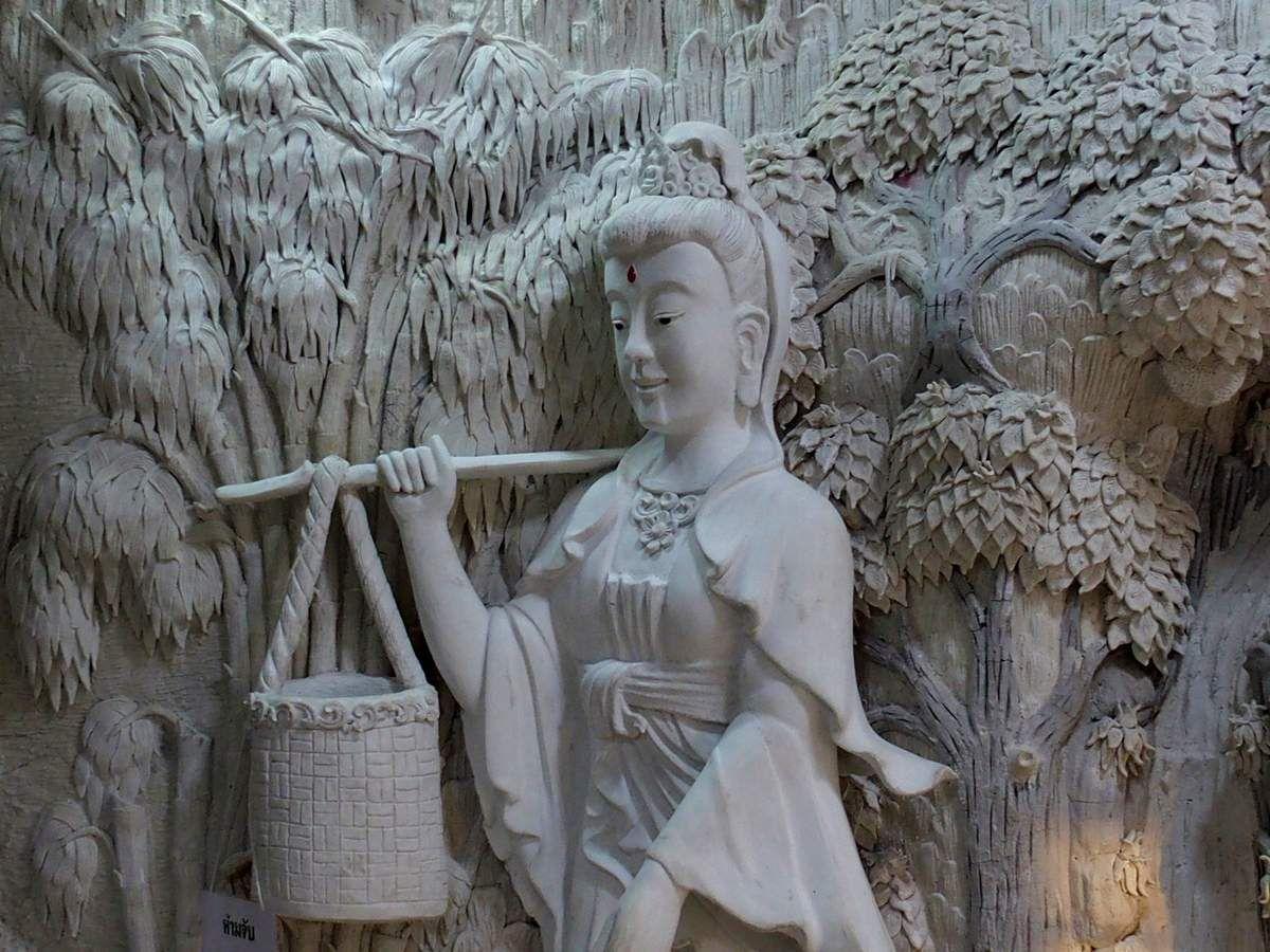 wat Hyua Pla Kang - Chiang Rai
