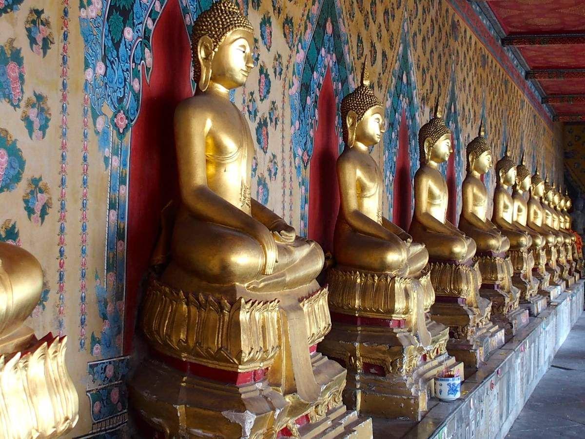 Bangkok - Wat Pho et Wat Arun