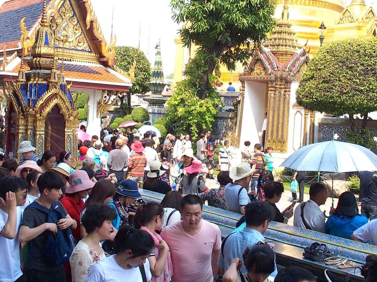 Bangkok - le grand palais et Wat Phra Kaeo