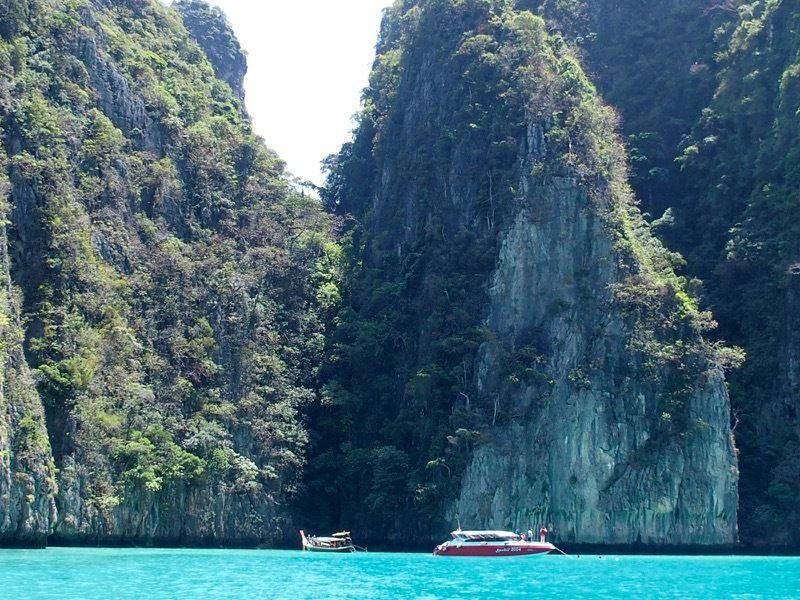 les îles de la mer d'Andaman