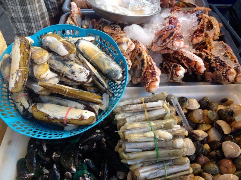 Patong - le marché aux poissons