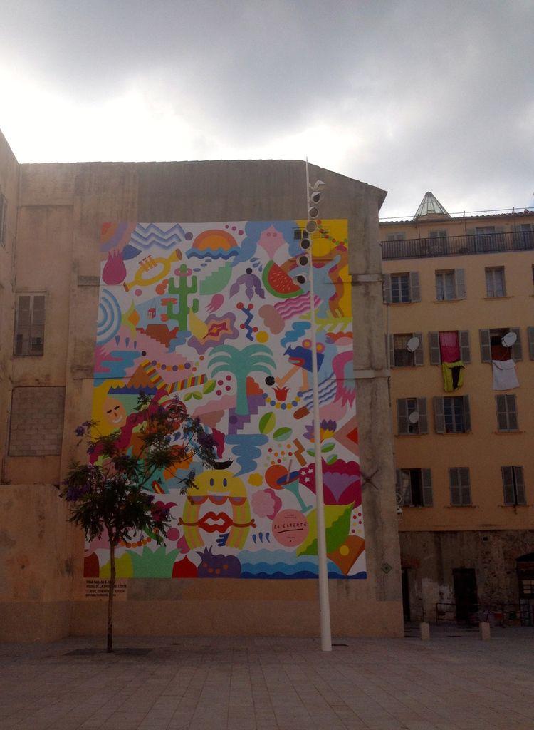 rue des Arts (et environs) à Toulon