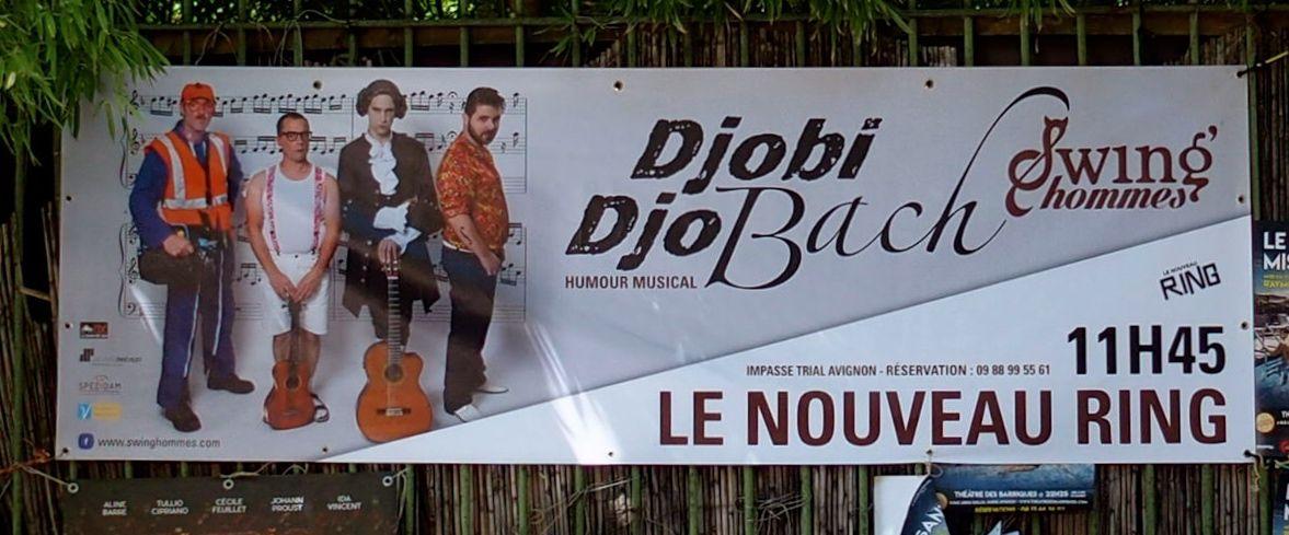 Djobi DjoBach - festival d'Avignon