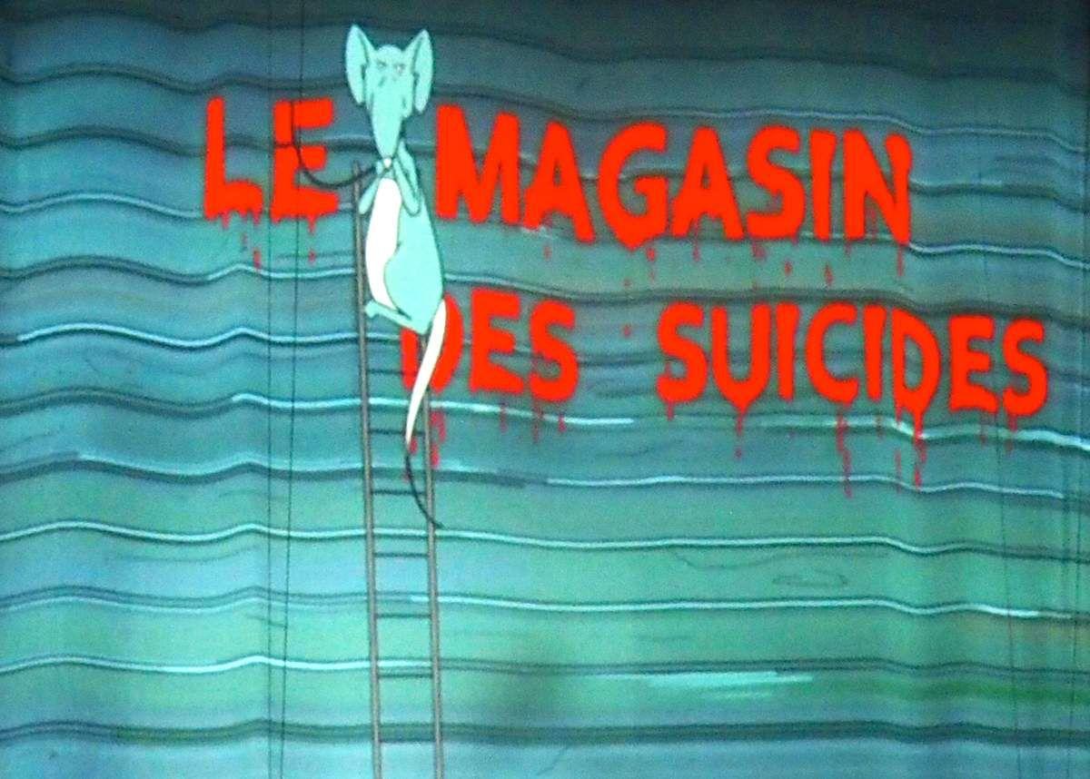 le magasin des suicides - festival d'Avignon