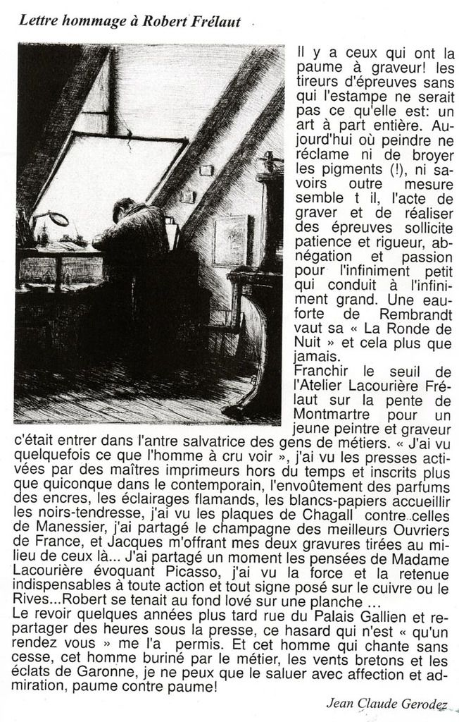 Exposition à Mably