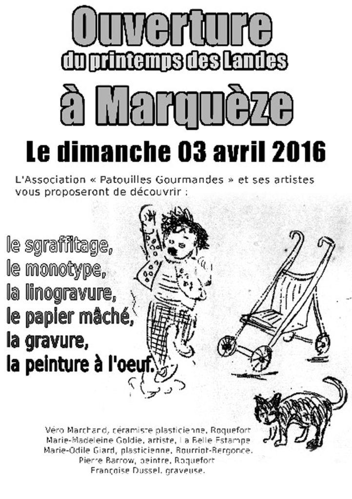 Patrouilles gourmandes à Marquèze