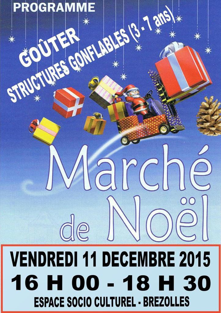 Le marché de Noël 2015