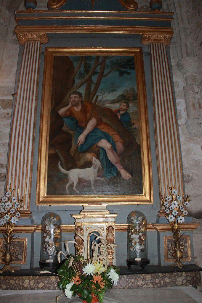 Saint Roch et la Vierge