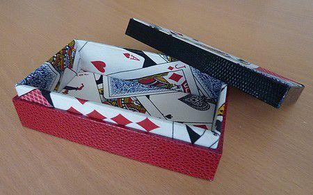 Boîte pour jeu de tarot