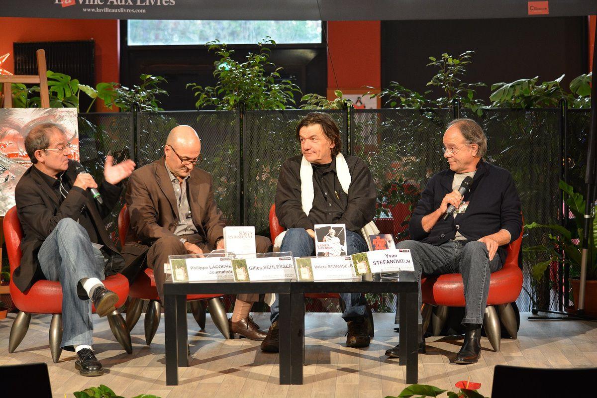 Festival du Livre et de la Bande-Dessinée, Creil, avril 2014.