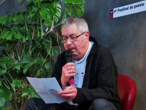 """""""""""In Memoriam"""" de Gilbert Desmée"""", par Jean-Louis Rambour, Festival de Poésie, Creil, le 28.04.2015"""