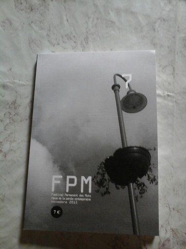FPM (Festival Permanent des Mots) 7