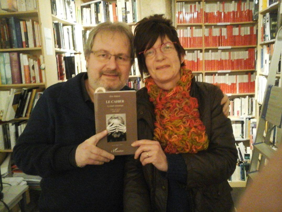 Lecture-dédicaces Eric Dubois à la librairie de L'Harmattan rue des Ecoles à Paris, le 15/01/2016