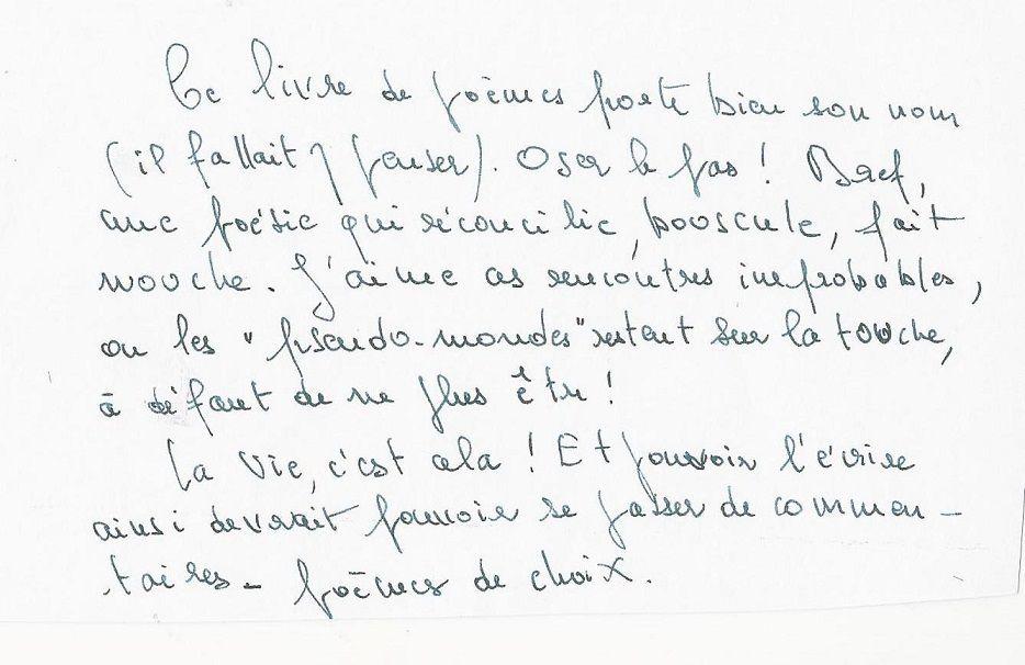 """Lettre de Michel Talon à Patrice Maltaverne, à propos de """"Trash fragilité"""" de Murielle Compère-Demarcy, ill. Didier Mélique &#x3B; éd. du Citron Gare &#x3B; juin 2015"""