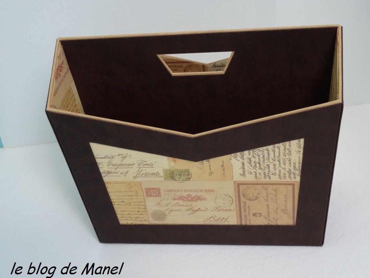 LES CARTONNAGES DE MANEL / PORTE REVUES