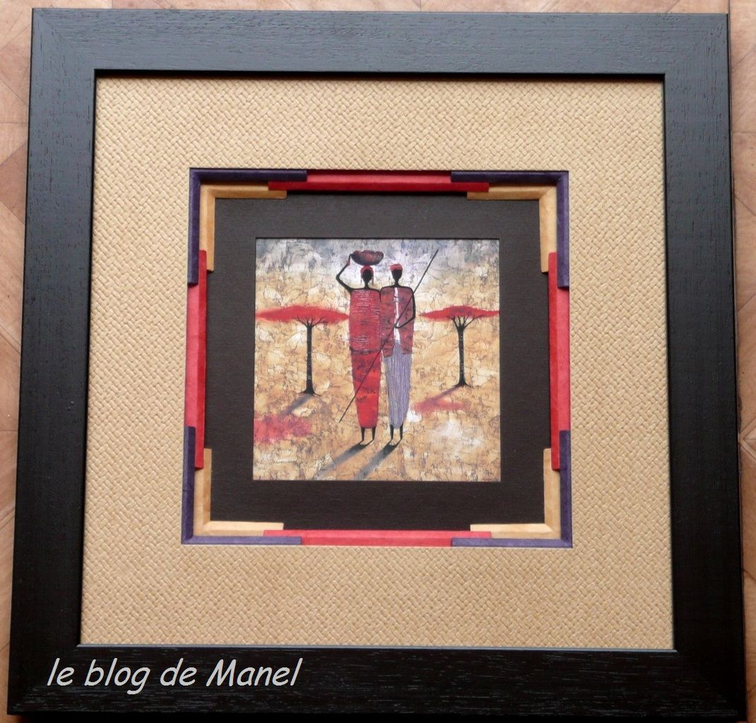 MARIE THE S. /ELEVE DE MANEL/ BISEAU SUPERPOSES INTERROMPUS