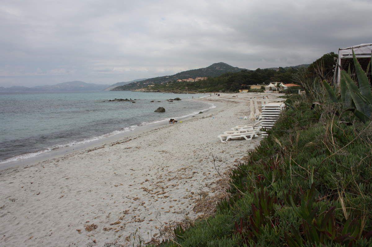 Corse :l'île Rousse.