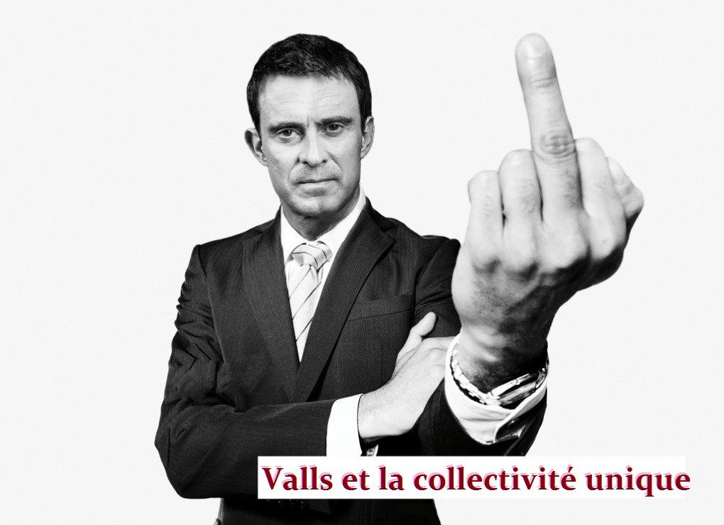 Valls arrive en Corse ....