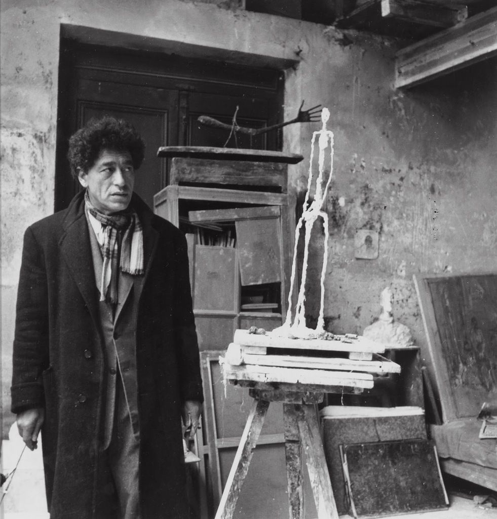 Alberto Giacometti - photo Michel Sima