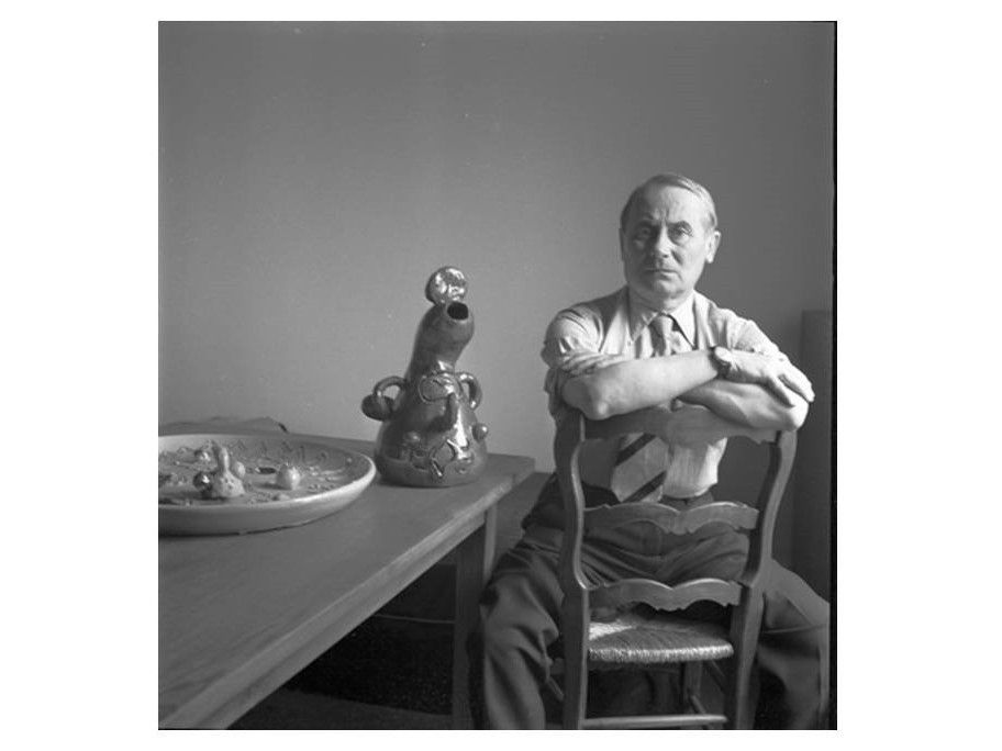 Joan Miro - photo Michel Sima