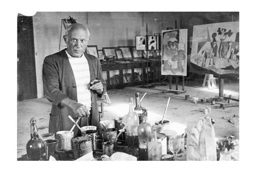 Pablo Picasso - photo Michel Sima