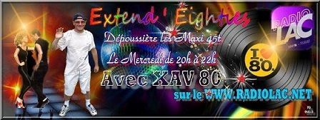 &quot&#x3B;Extend' Eighties avec Xav80 sur Radiolac&quot&#x3B; Kim Wilde et bien d'autres !
