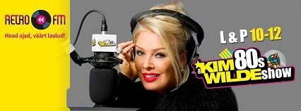&quot&#x3B;The Kim Wilde 80's Show&quot&#x3B; diffusé sur Retro FM en Estonie