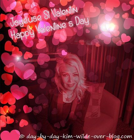 """Happy Valentine's Day avec Kim Wilde"""