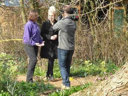 """Music Meadow au Butterfly World Project"" avec Kim Wilde"