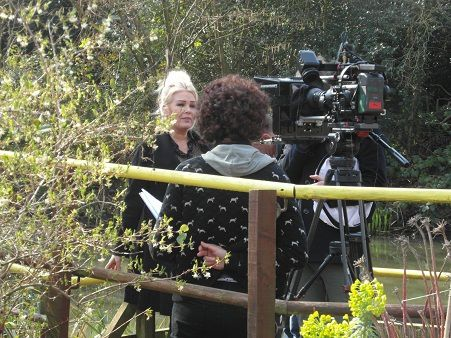 &quot&#x3B;Music Meadow au Butterfly World Project&quot&#x3B; avec Kim Wilde