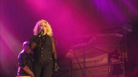 Kim Wilde live au Sommer Open Air d'Eckernförde part II