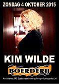 Kim Wilde Live aux Pays-Bas - Heerlen hier et Zoetermeer ce soir