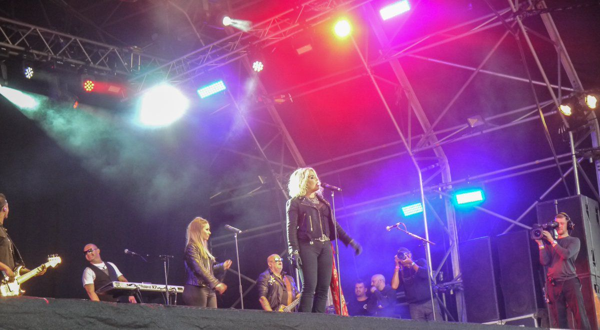 Kim Wilde live en juillet - Rock Of Ages Festival