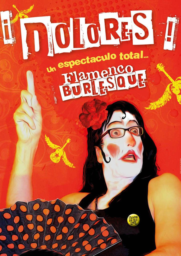 Samedi 30 septembre 20h30: ¡DOLORES! UN ESPECTACULO TOTAL