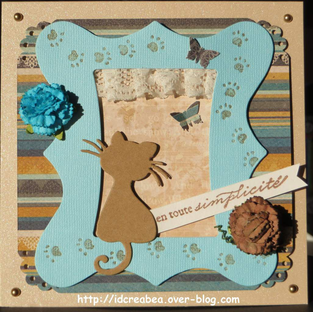 2 cartes pour Style Shabby.