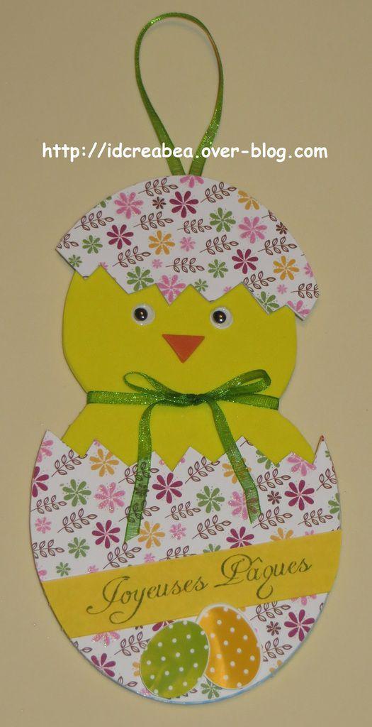 Swap de p ques lapin poule oeuf id cr a 39 b a des cr ations personnalis es pour un - 4 images 1 mot poussin lapin ...