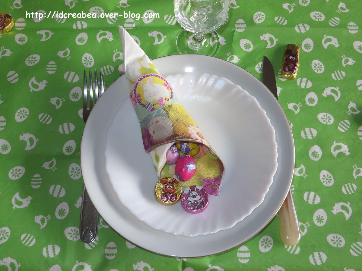 Ma table Lapinoux pour Pâques.
