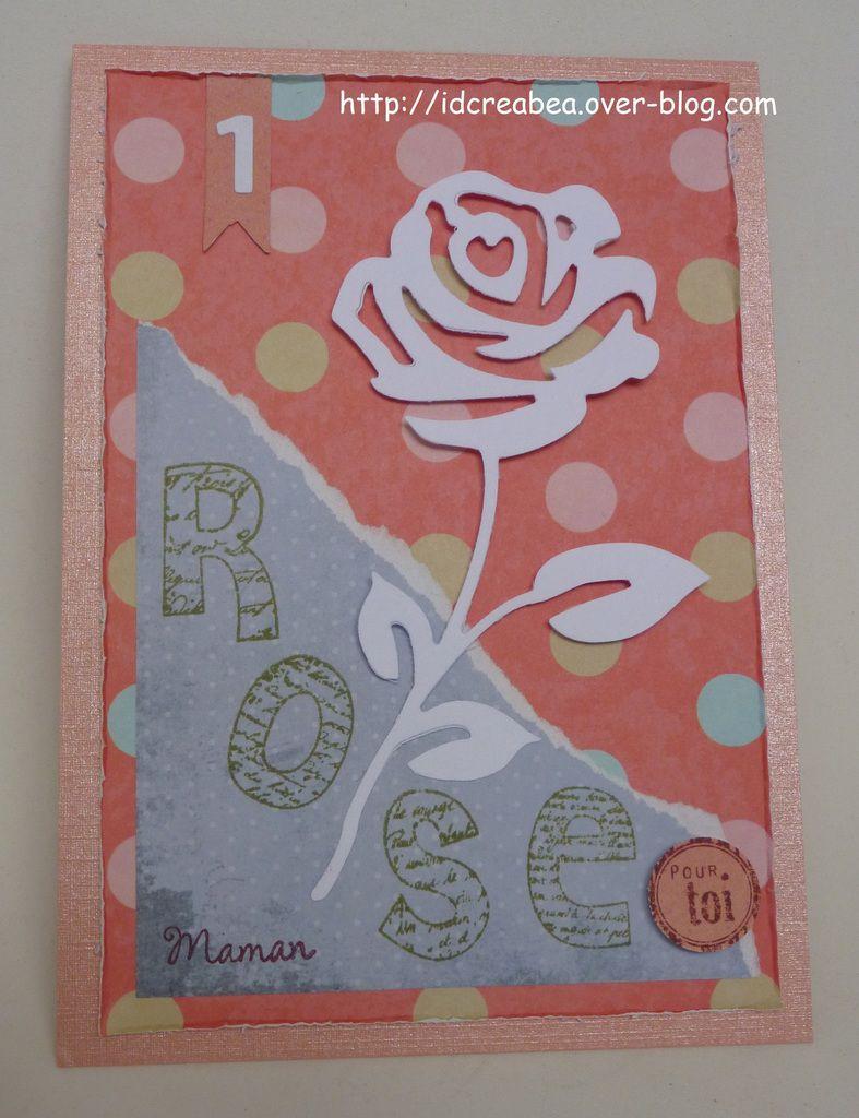 Petit message : 1 rose pour toi Maman.