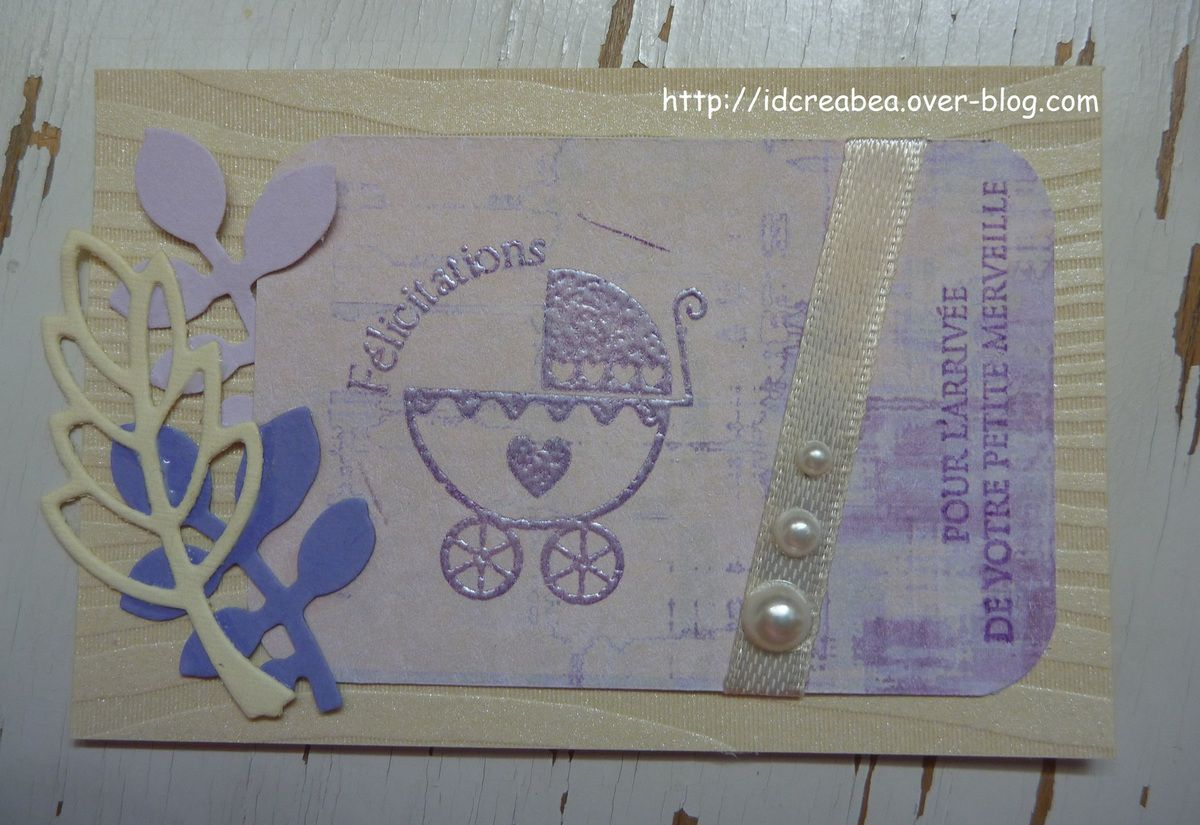Une cartounette pour Carte Maniak 134.