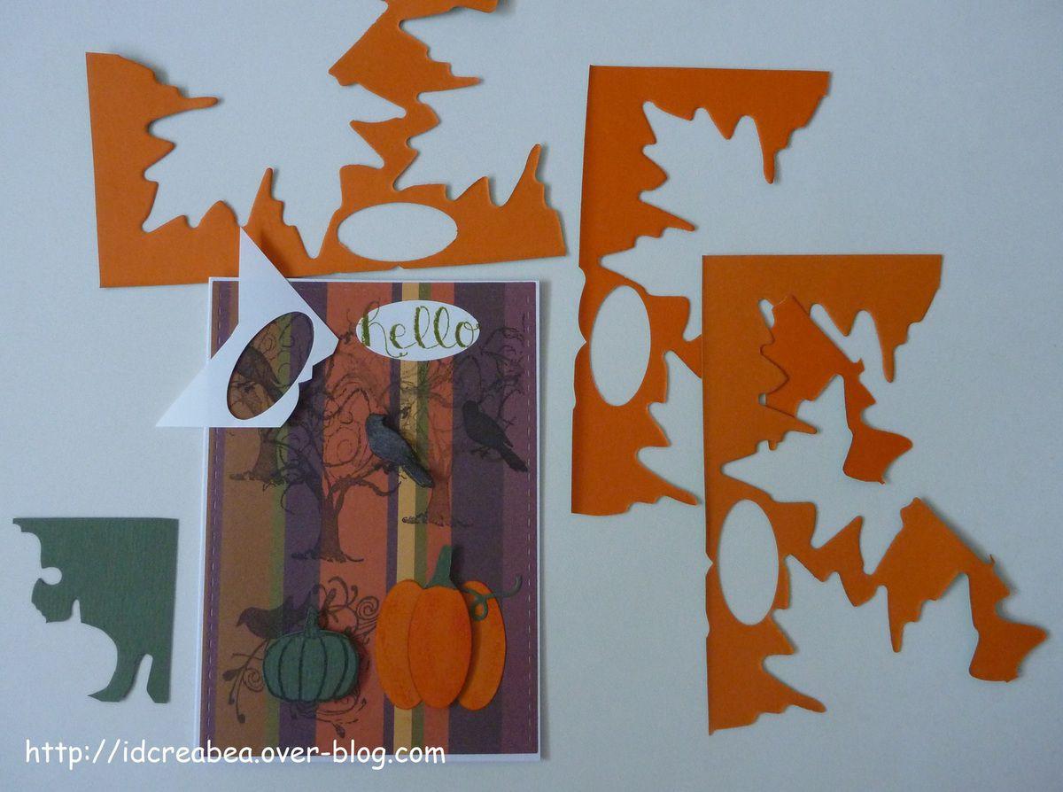 Carte Halloween pour le défi 140 de Carte Maniak.