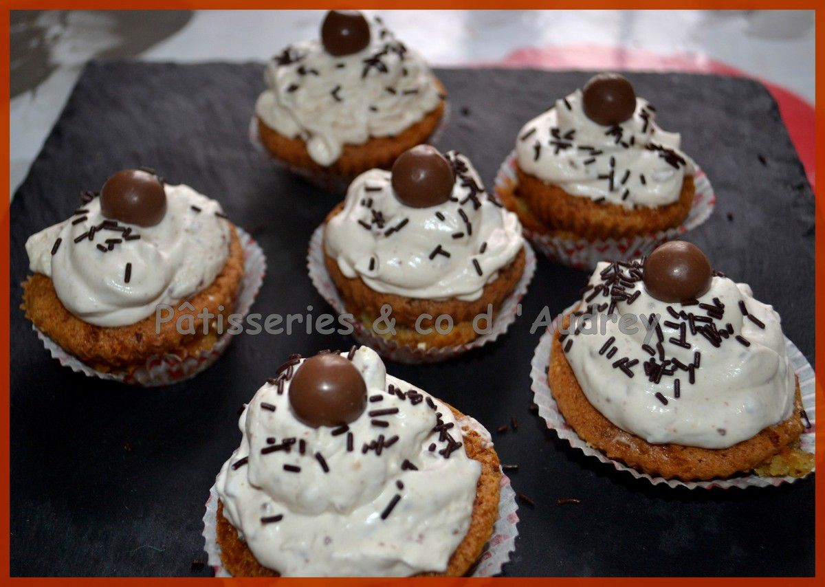 Cupcakes aux maltesers