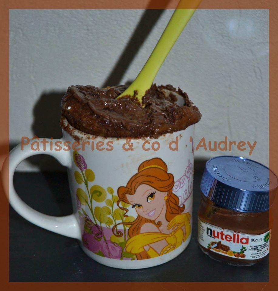 Mug - cake au Nutella