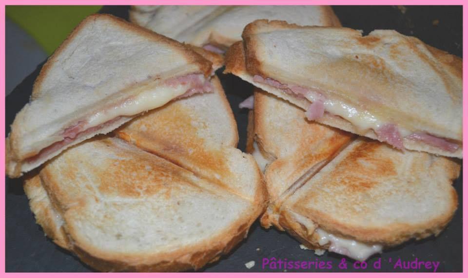 Croque - monsieur jambon / fromage &quot&#x3B;classique&quot&#x3B;